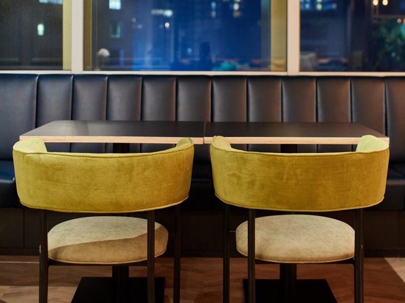 intimate discussion desk